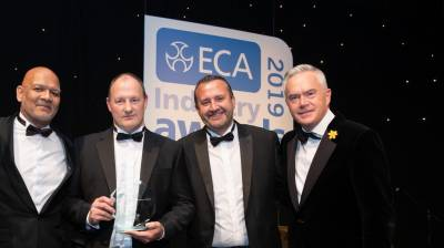 Award success for NG Bailey safety system