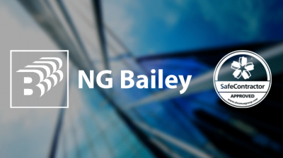 NG Bailey achieves SafeContractor accreditation