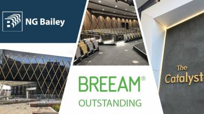 Outstanding BREEAM rating for University project