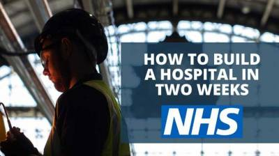 How to build an emergency hospital in two weeks